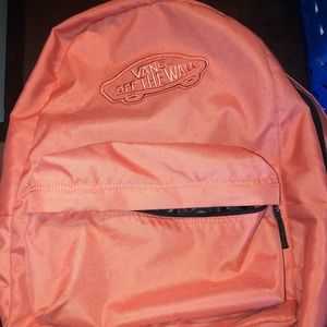 Van's salmon/coral book bag MAKE ME AN OFFER